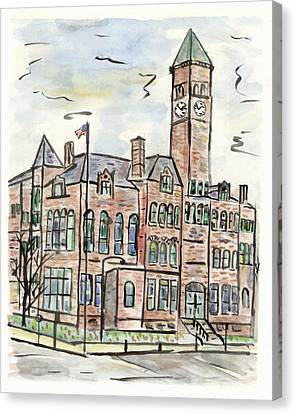 Old Courthouse Museum Canvas Print by Matt Gaudian