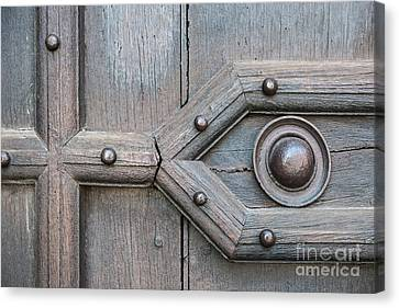 Old Door Detail Canvas Print