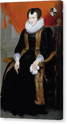 Old Lady Canvas Print by Cornelis de Vos