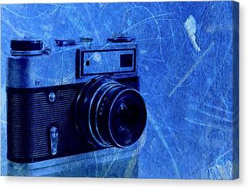 Old Photo Camera Canvas Print by Boyan Dimitrov