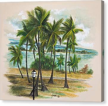 Old San Juan - Morro Canvas Print by George Bloise