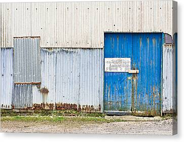 Old Warehouse Canvas Print by Tom Gowanlock