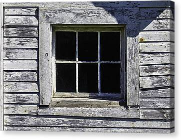Old Window Canvas Print by Garry Gay