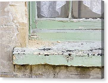 Ledge Canvas Print - Old Windowsill by Tom Gowanlock