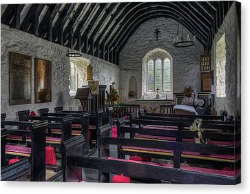 Olde Church Canvas Print by Ian Mitchell