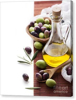 Olive Oil Canvas Print by Jelena Jovanovic