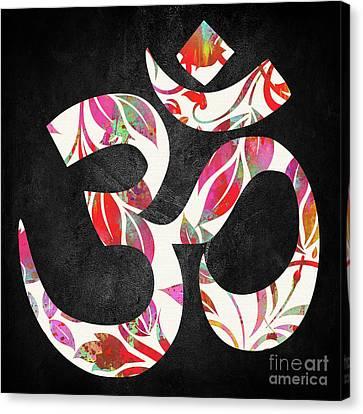 Om   Canvas Print by Prar Kulasekara