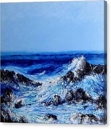Keanae Point  Canvas Print