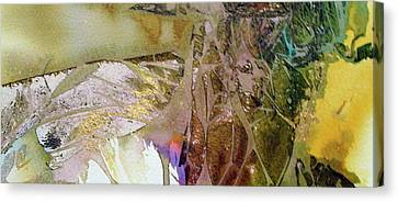 Canvas Print featuring the painting On Gossamer Wing by Mary Sullivan