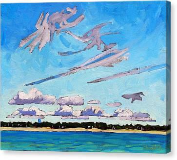 Southampton Lake Breeze Cu Canvas Print