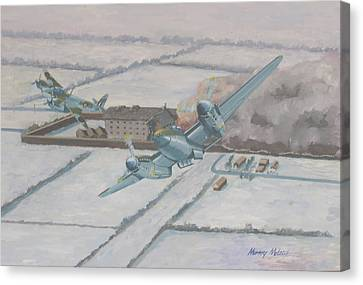 Aviationart Canvas Print - Operation Jericho  by Murray McLeod