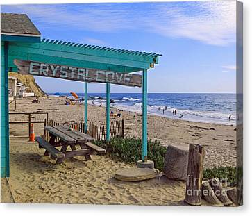 Orange County Canvas Print by Everette McMahan jr