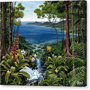Osa Peninsula Costa Rica Canvas Print