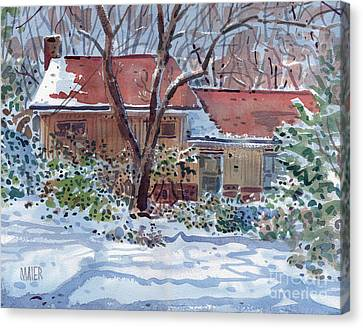 Our House Canvas Print by Donald Maier