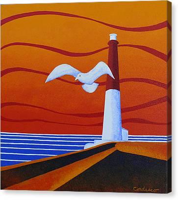 Our Ol' Barney Canvas Print by James Cordasco