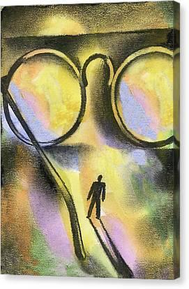 Outlook Canvas Print by Leon Zernitsky
