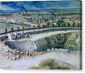 Outskirts Of Paris Canvas Print