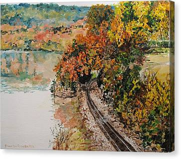 Ozark Fall Canvas Print