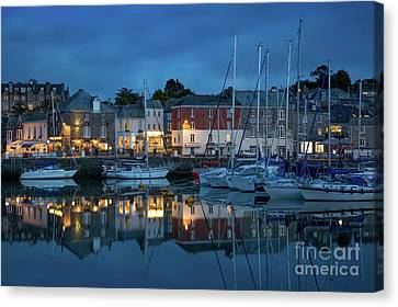 Canvas Print featuring the photograph Padstow Evening by Brian Jannsen