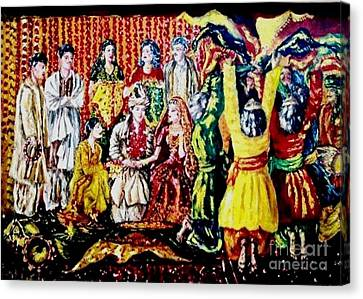Pakistani Wedding Canvas Print