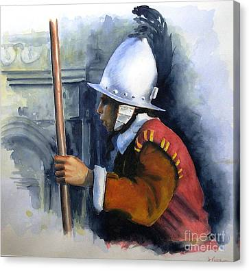 Palace Guard Canvas Print