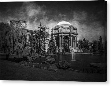 Canvas Print featuring the photograph Palace Of Fine Arts by Ryan Photography
