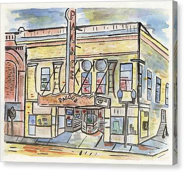 Palace Theater Canvas Print