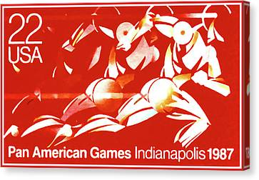 Pan American Games Canvas Print by Lanjee Chee