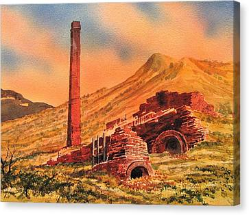 Panamint City Ghost Town California Canvas Print by Kevin Heaney
