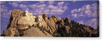 Democracy Canvas Print - Panoramic Image With White Puffy Clouds by Panoramic Images