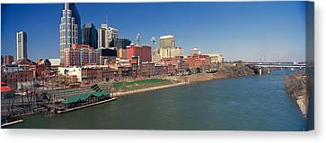 Panoramic Morning View Of Cumberland Canvas Print by Panoramic Images