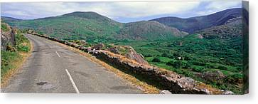 Panoramic View Of Healy Pass, Cork Canvas Print