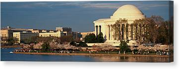 D.c. Canvas Print - Panoramic View Of Jefferson Memorial by Panoramic Images