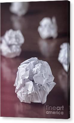 Paper Balls Canvas Print