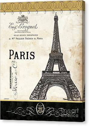Paris Ooh La La 1 Canvas Print