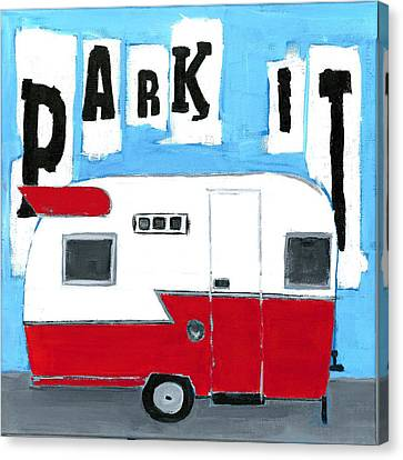 Park It Canvas Print by Debbie Brown