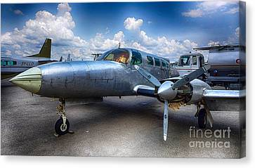Parked Canvas Print by Charuhas Images