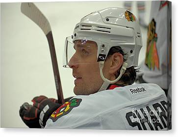Canvas Print featuring the photograph Patrick Sharp by Melissa Goodrich