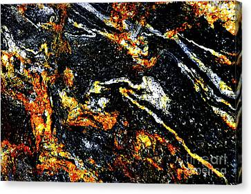 Canvas Print featuring the photograph Patterns In Stone - 189 by Paul W Faust - Impressions of Light