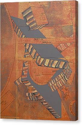 Patterns Series Number Three Canvas Print by Sonja Olson