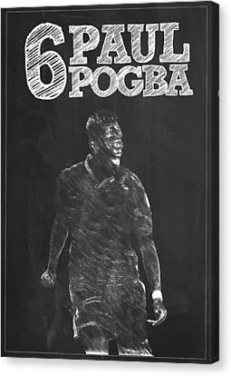 Paul Pogba Canvas Print