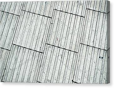 Paving Tiles Canvas Print by Tom Gowanlock