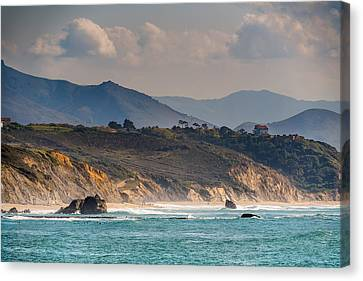 Canvas Print featuring the photograph Pays Basque by Thierry Bouriat