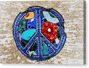 Peace  Canvas Print by Juls Adams