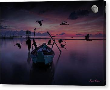 Peace Canvas Print by Karo Evans
