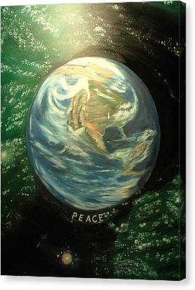 Peace Canvas Print by Kenneth LePoidevin