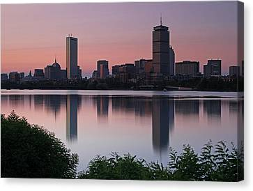 Peaceful Boston Canvas Print by Juergen Roth