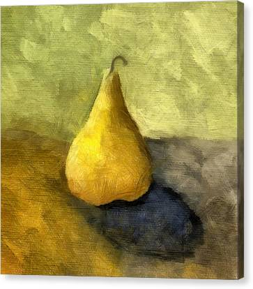 Pear Still Life Canvas Print by Michelle Calkins