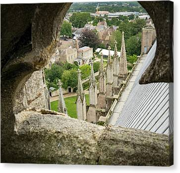 Canvas Print - Peeking At Ely by Jean Noren