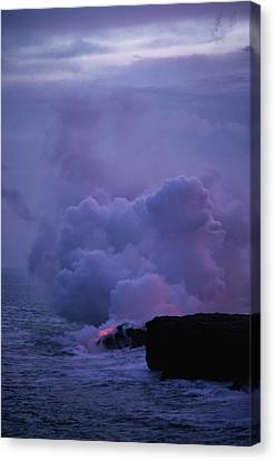 Canvas Print featuring the photograph Pele by Gary Cloud